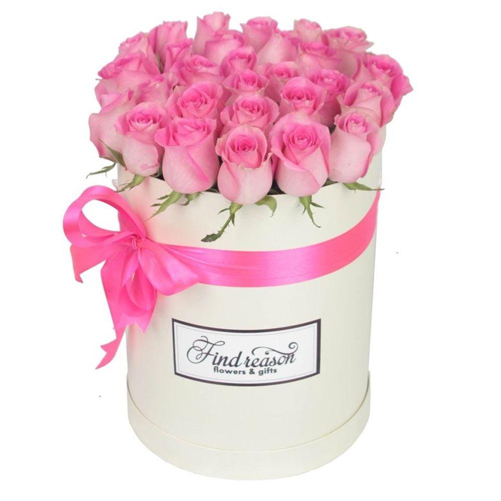 Недорогие цветы в коробке москва, букетах долго