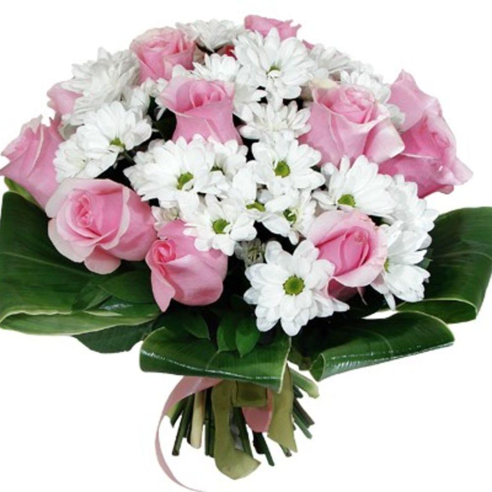 Коллекция букеты из роз и хризантем