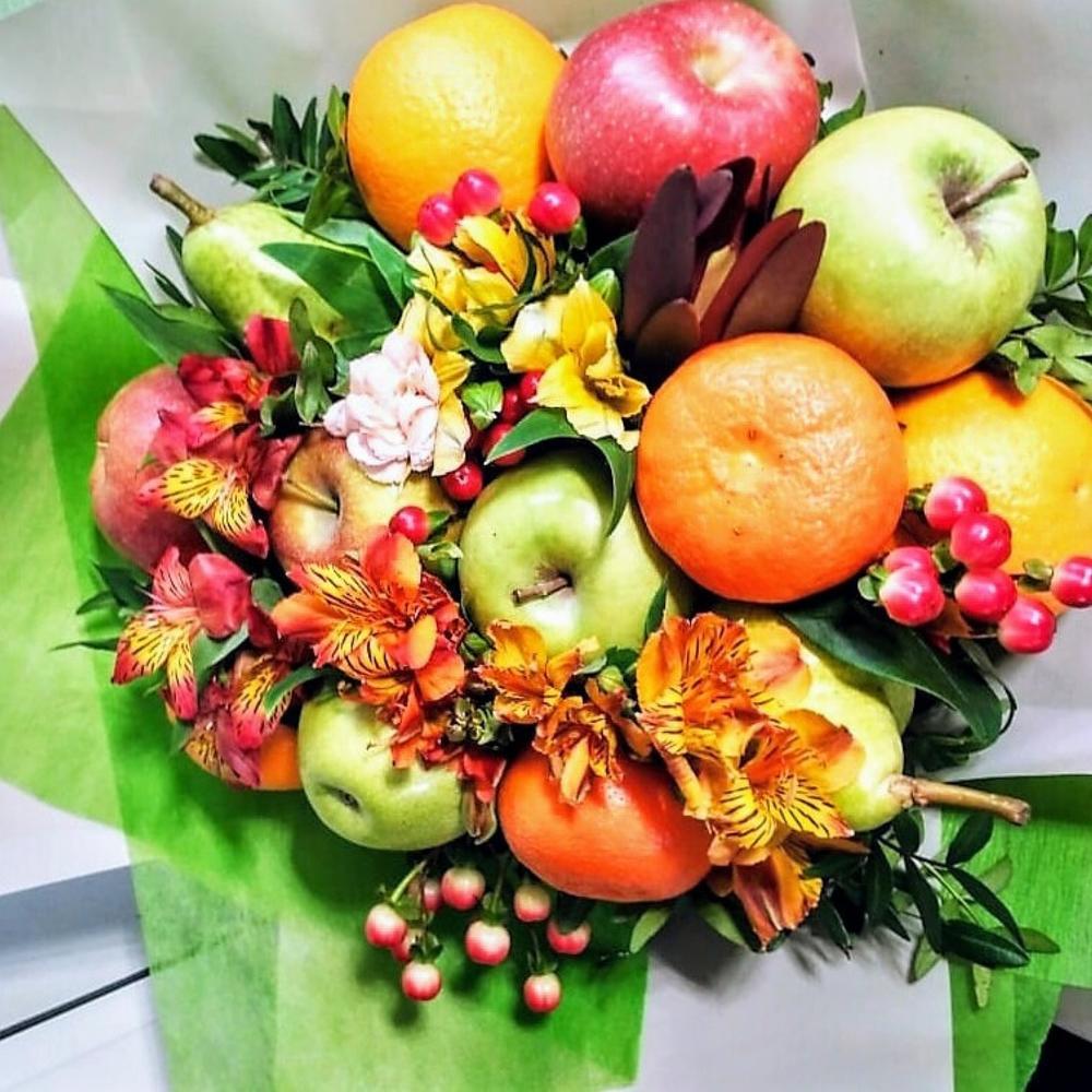 Живых, букеты из фруктов и конфет иркутск