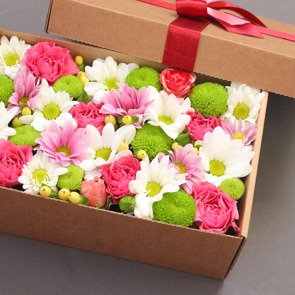 картинки цветы в коробке оригинальные готовы почитайте