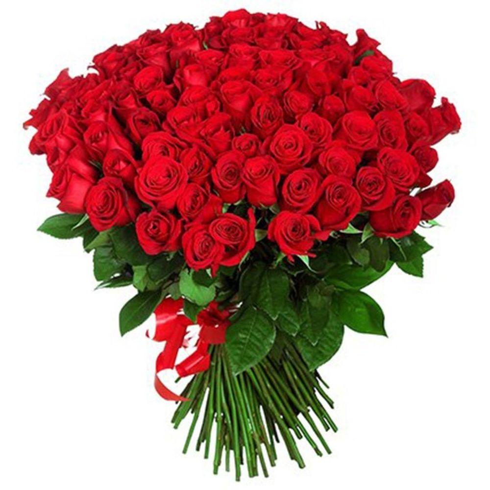 Открытка 101 роза