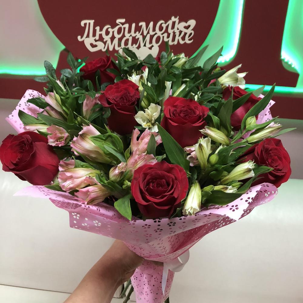 Открытка букет цветов для любимой мамочки, открыток фотографий поздравления