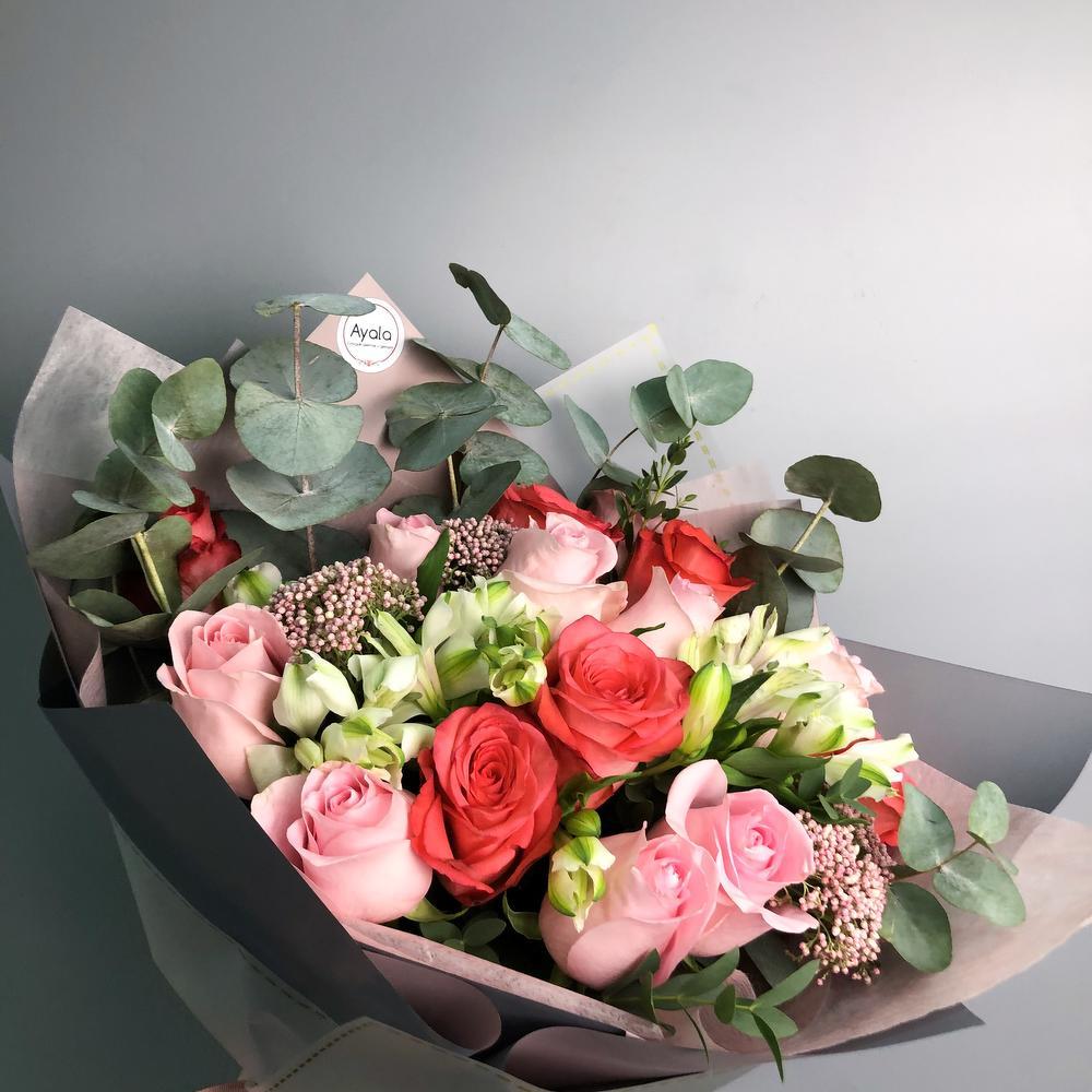 Цветы цветы на заказ астана, цветов васильковской