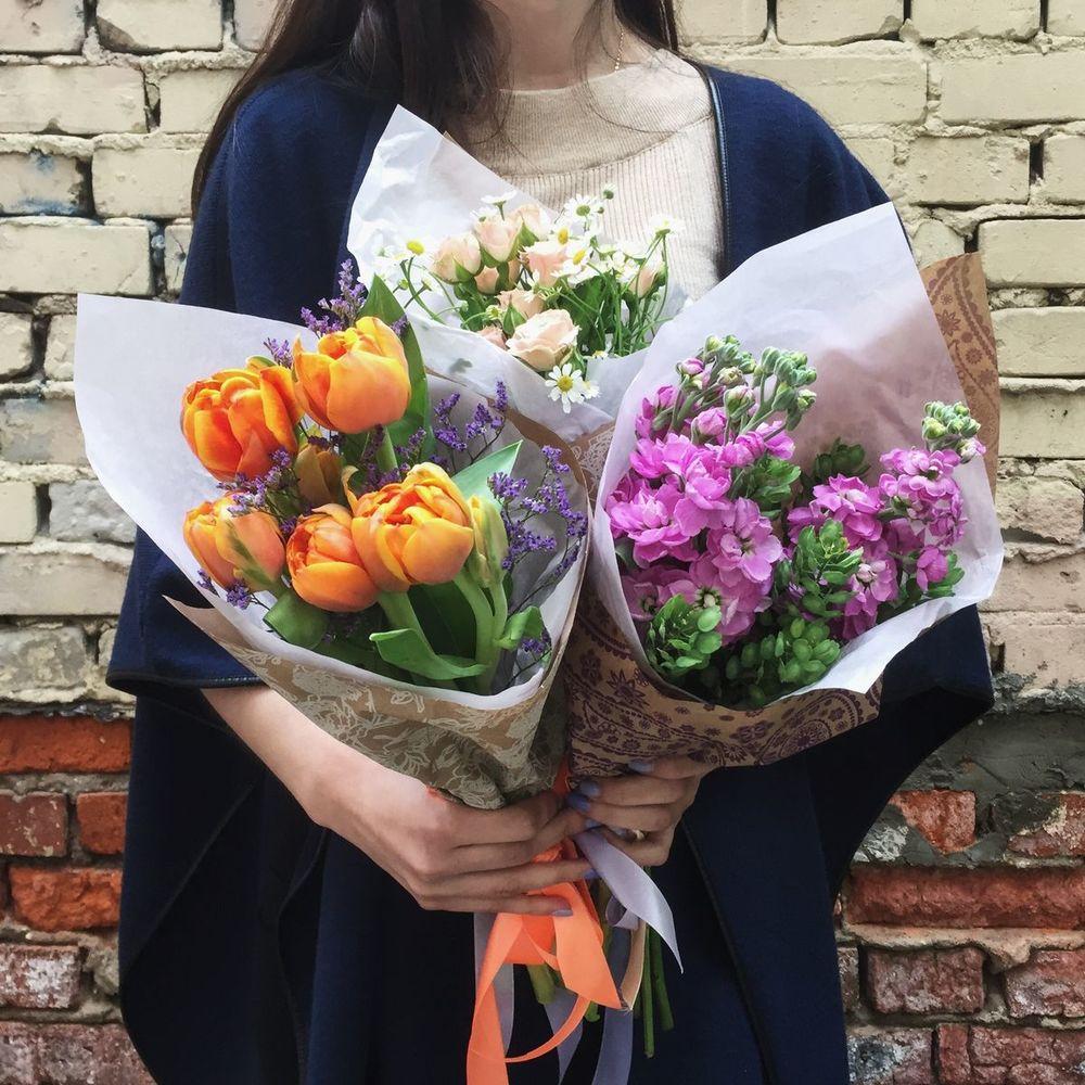 Букеты цветов для выпускного фото, губке как
