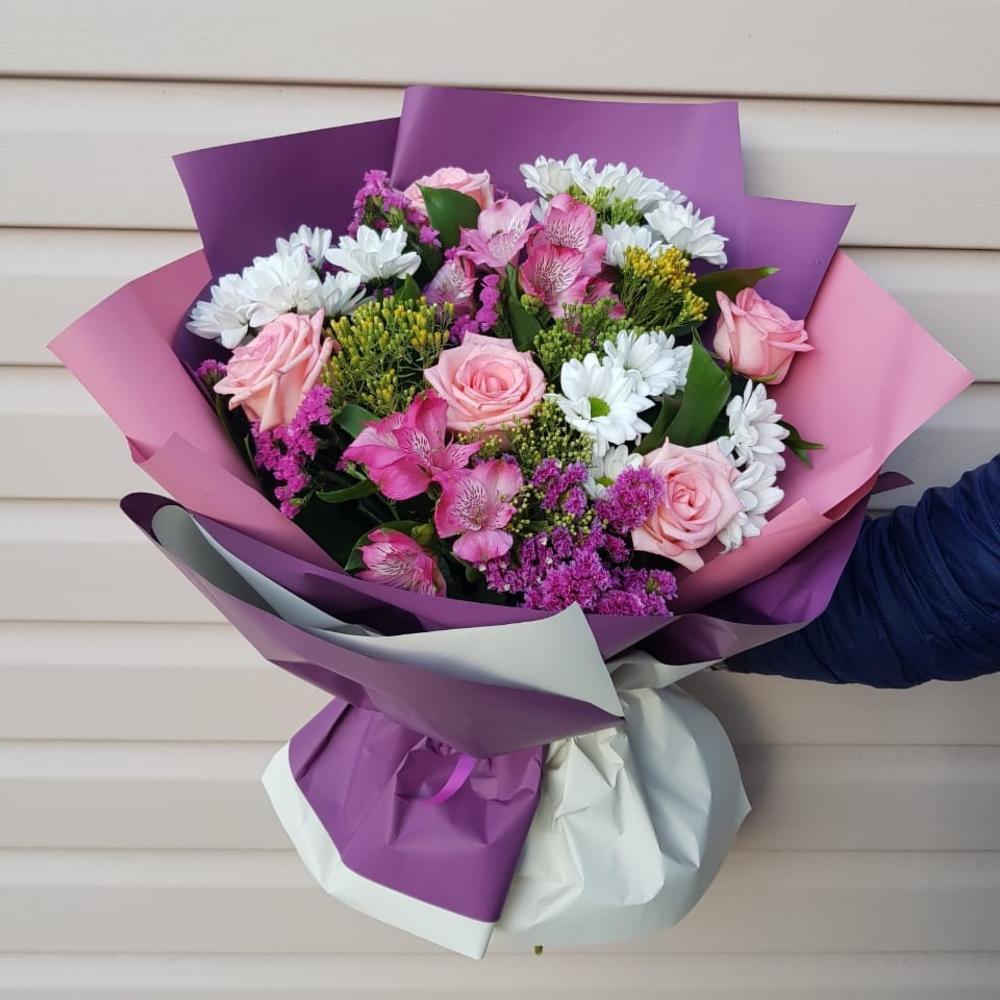Ромашки букет, заказ и доставка цветов самара