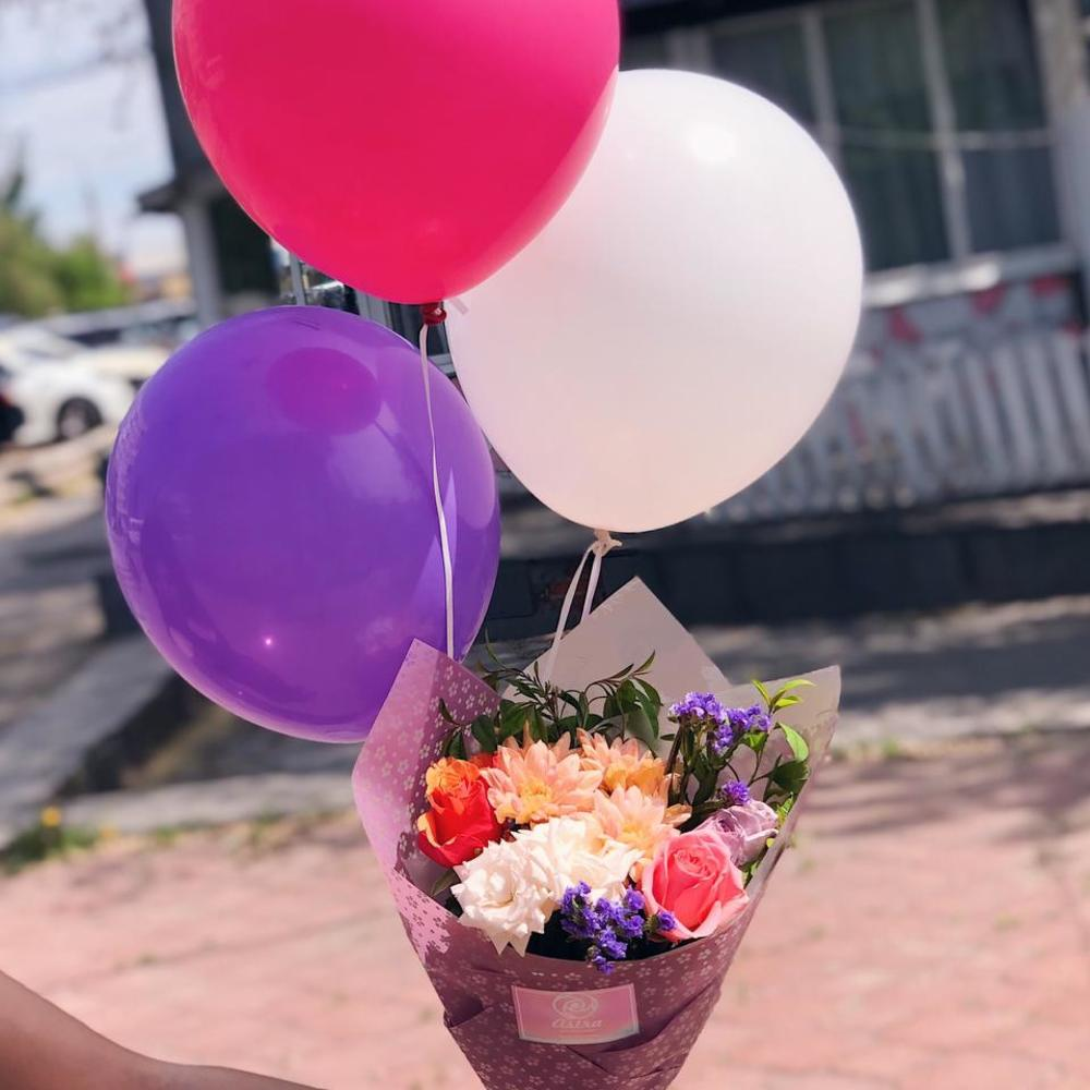 отметил, картинка цветы с шариками вооружение