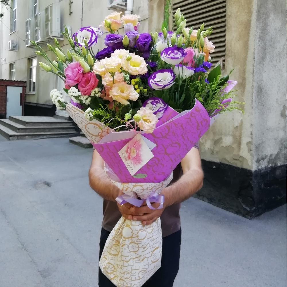 Букет китайских роз фото