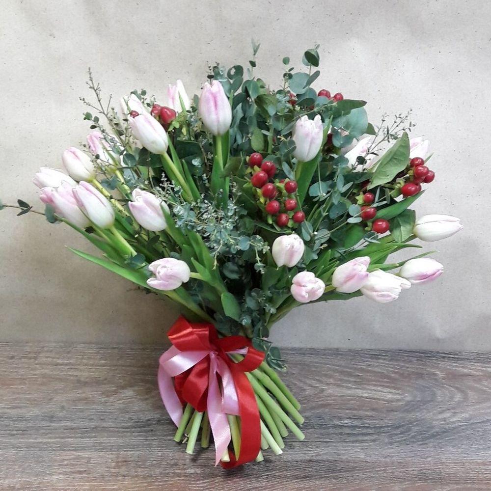Составные букет с тюльпанов фото hd