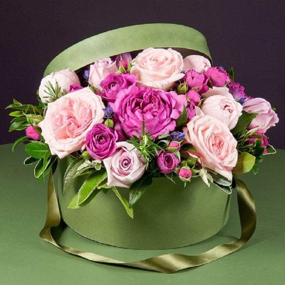 открытка розы стильный букет вас есть знакомые