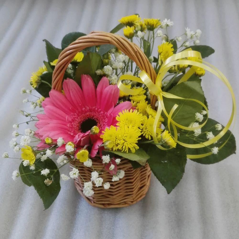 Корзина из живых цветов своими руками пошагово, доставка цветов