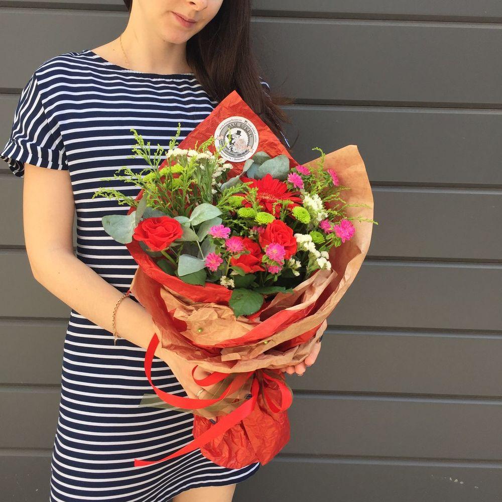 Под цветы, доставка букетов гуково
