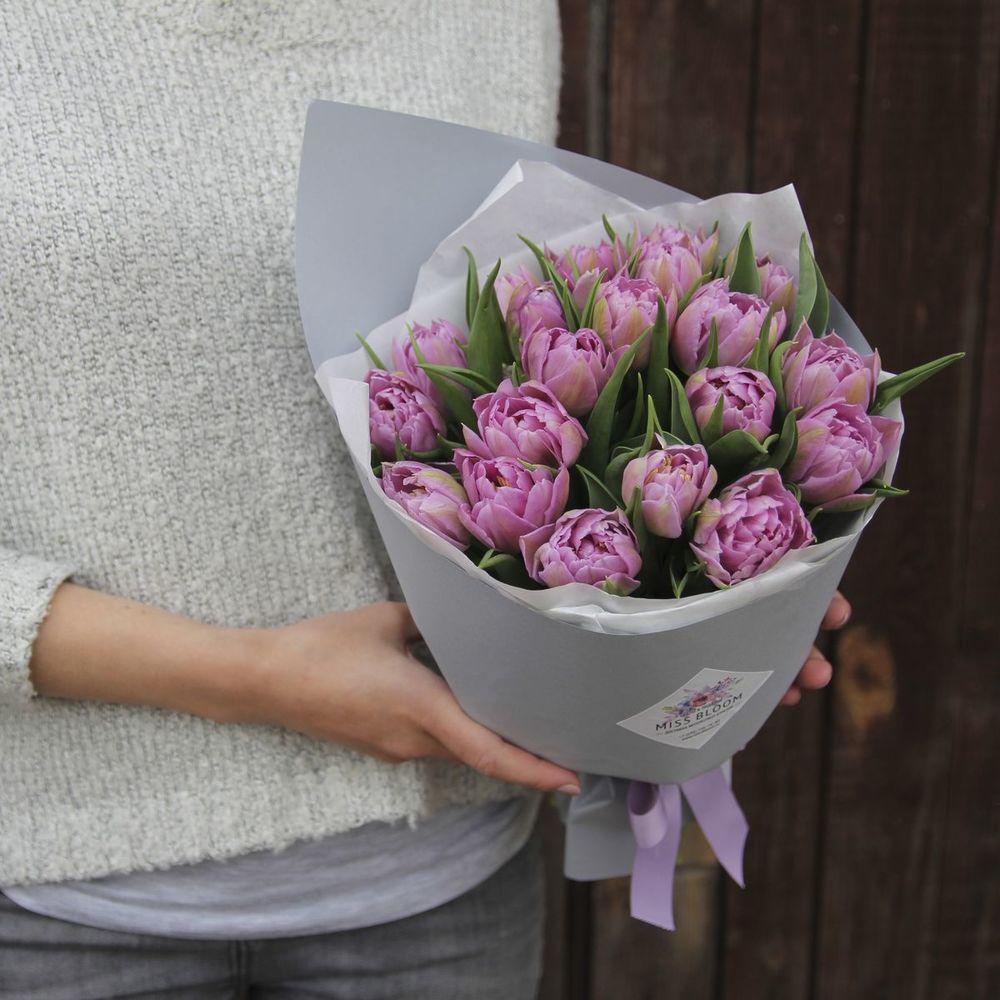 Доставка цветов-сирень тюльпанов, хризантемы