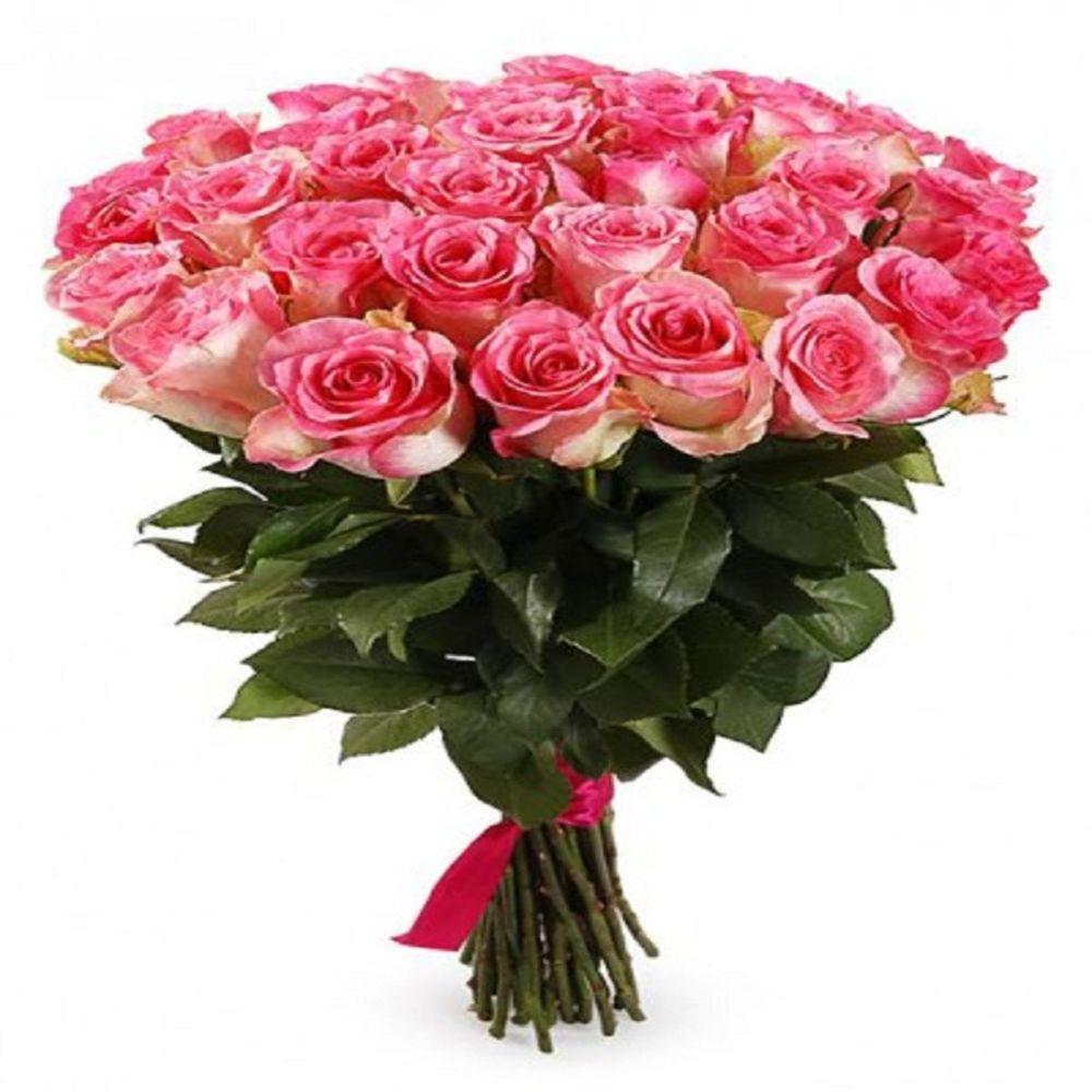 Букет 25 роз доставка цветов