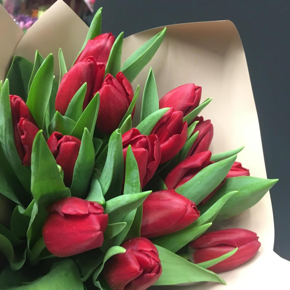 Букет из 31 тюльпана ижевск