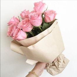 Розовые розы с доставкой по Владивостоку