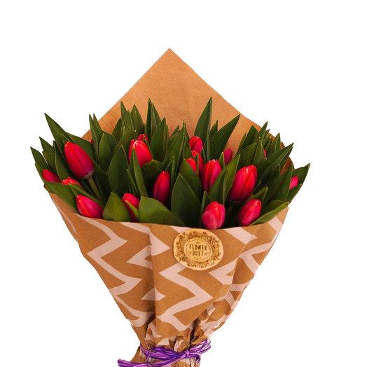 Букет тюльпан: букеты цветов на заказ Flowwow
