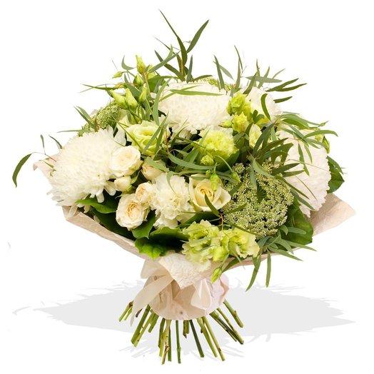 Букет цветов Снег в ноябре: букеты цветов на заказ Flowwow