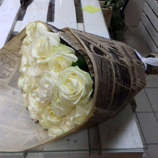 21 белая роза Times