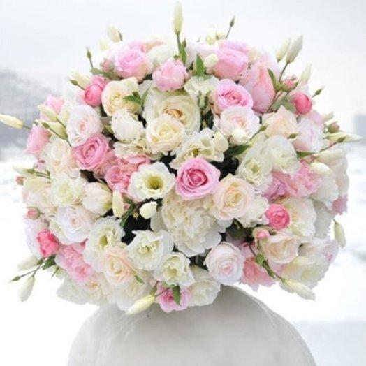 """Чудесный букет роз """"Очарование"""": букеты цветов на заказ Flowwow"""