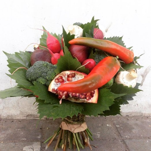 Овощной букет: букеты цветов на заказ Flowwow