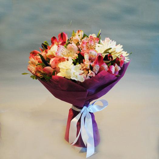 Весенний букет 3: букеты цветов на заказ Flowwow