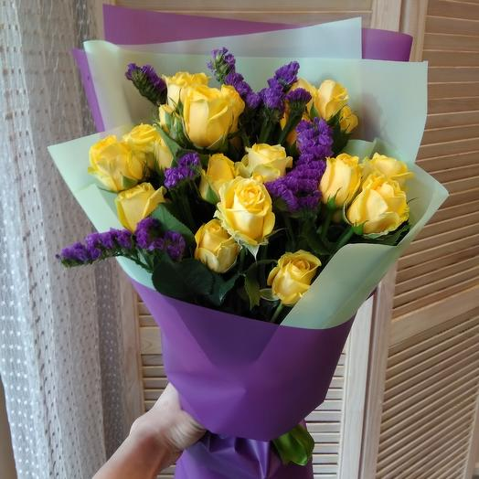 Букет фиолет: букеты цветов на заказ Flowwow