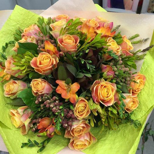 Саванна: букеты цветов на заказ Flowwow