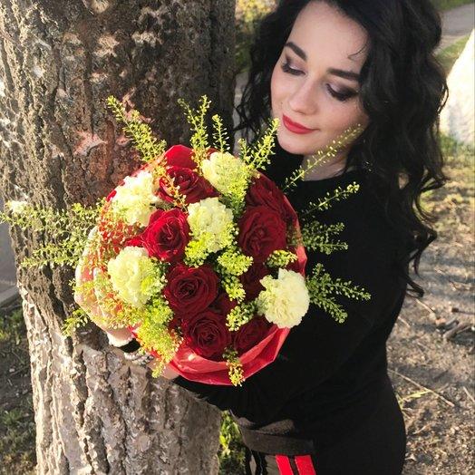 Вишневый мохито: букеты цветов на заказ Flowwow