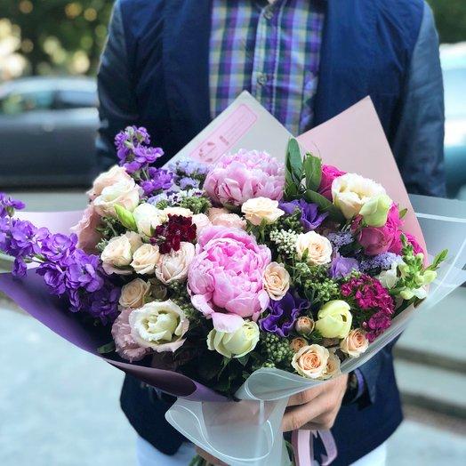 "Букет ""Моника"": букеты цветов на заказ Flowwow"