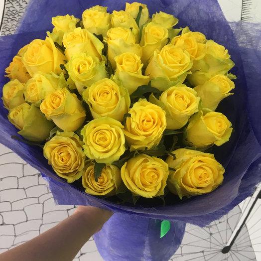 Солнечное настроение 35: букеты цветов на заказ Flowwow