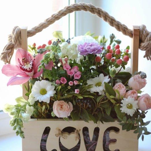 "Ящик ""Love"""