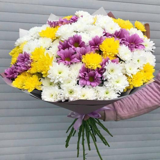 "Букет ""Хризантема микс"": букеты цветов на заказ Flowwow"