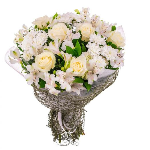 """Нежный букет """"АФРОДИТА"""": букеты цветов на заказ Flowwow"""