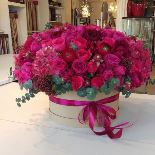 Цвет настроения Fuscia: букеты цветов на заказ Flowwow