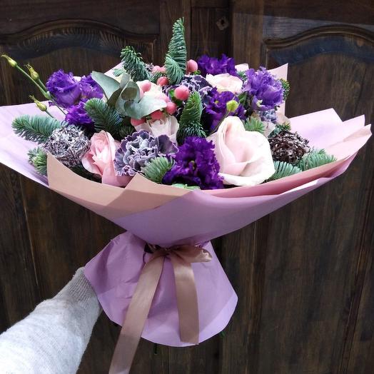 Морозный узор: букеты цветов на заказ Flowwow