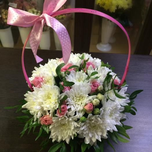 Цветочная корзина 11: букеты цветов на заказ Flowwow