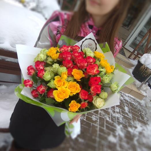 11 элегантных кустовых роз