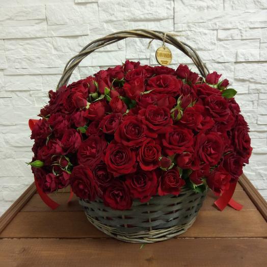 """Корзина """"Мирабель"""": букеты цветов на заказ Flowwow"""
