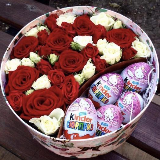 Сладкий Валентин: букеты цветов на заказ Flowwow