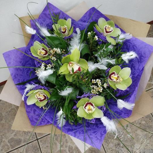 Орхидейная поляна: букеты цветов на заказ Flowwow
