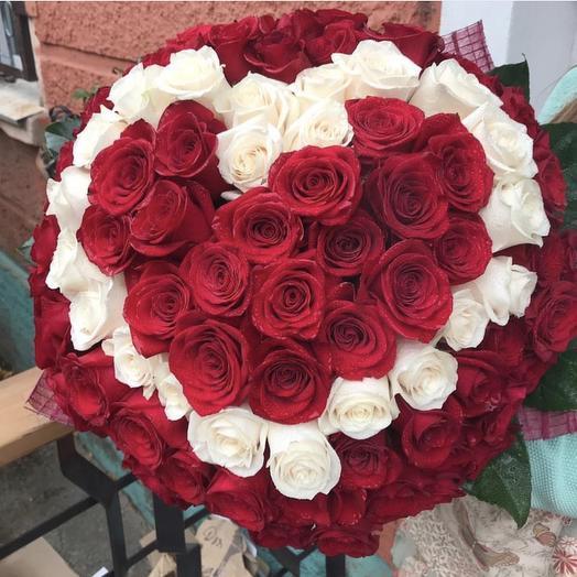 Мое сердце: букеты цветов на заказ Flowwow
