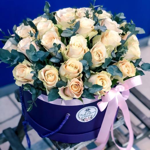 Кремовый десерт: букеты цветов на заказ Flowwow