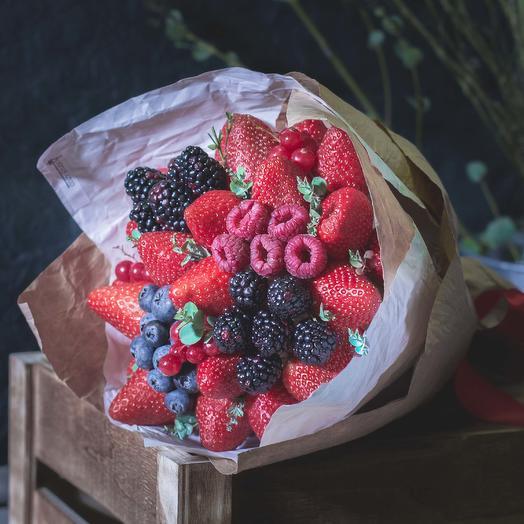 Букет из ягод 99: букеты цветов на заказ Flowwow
