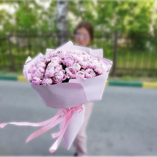 Пионовый гигант: букеты цветов на заказ Flowwow