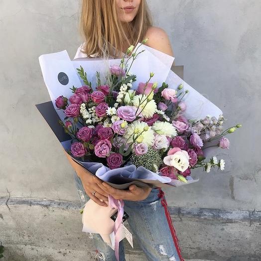 Гармония красок: букеты цветов на заказ Flowwow
