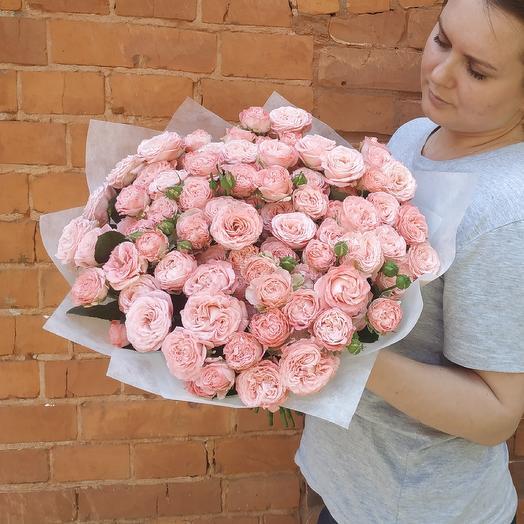 Поцелуй нежности: букеты цветов на заказ Flowwow