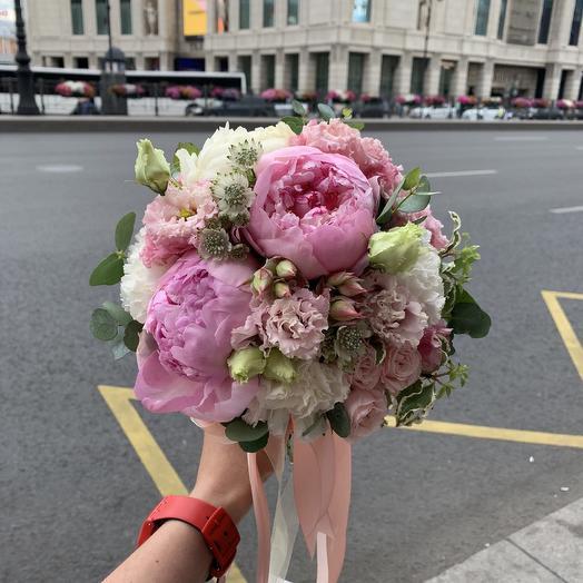 """Букет невесты """"Магический шар"""": букеты цветов на заказ Flowwow"""
