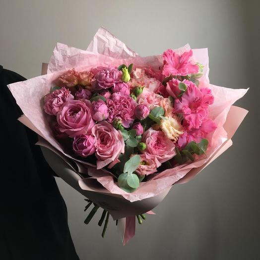 Розовый щербет: букеты цветов на заказ Flowwow