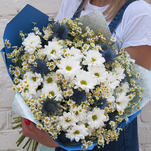 "Букет ""Свежий ветер"": букеты цветов на заказ Flowwow"