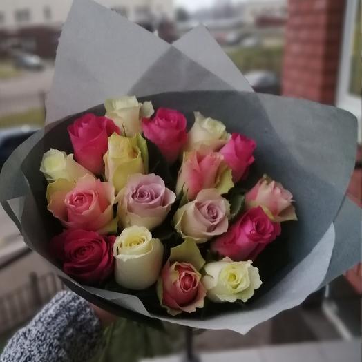 17 роз 🌸: букеты цветов на заказ Flowwow